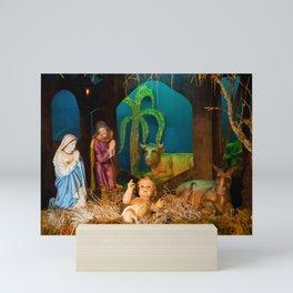 Nativity scene Mini Art Print