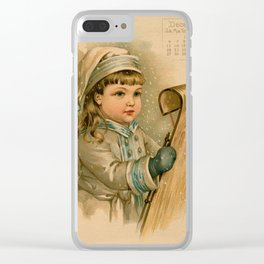 Canadian Girl Maud Humphrey Clear iPhone Case