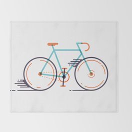 speed bike Throw Blanket