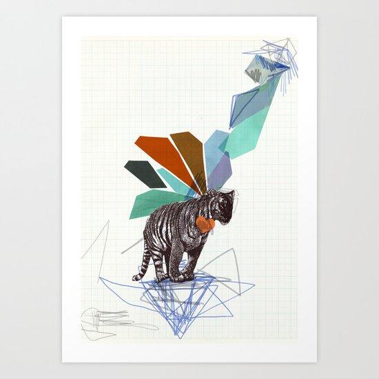 T I G E R Art Print