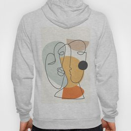 Abstract Faces 30 Hoody