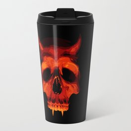 Devil Skull Travel Mug