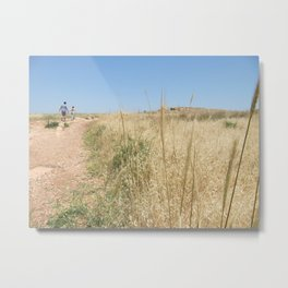 Wheat on Mount Tabor Metal Print