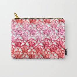 Cherry blossom crochet Carry-All Pouch