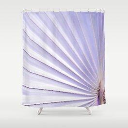 Fan palm - pastel Shower Curtain