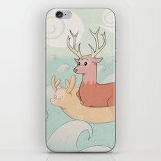 Deer Across the Sea iPhone & iPod Skin