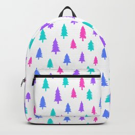 Christmas trees Backpack