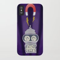 bender iPhone & iPod Cases featuring Broken Bender by Charles  Heales