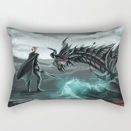 I am Alduin Rectangular Pillow
