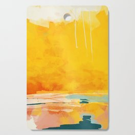 sunny landscape Cutting Board