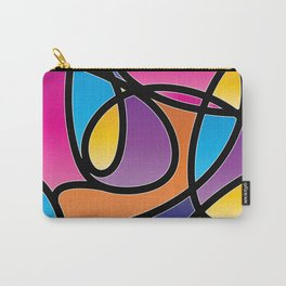 Loops Color 2 Carry-All Pouch
