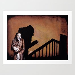 Nosferatu - A Symphony of HORROR! Art Print
