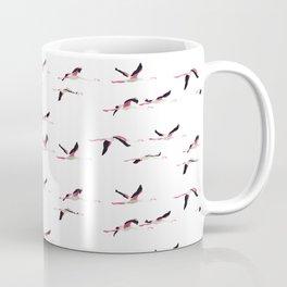 Flying flamingos Coffee Mug
