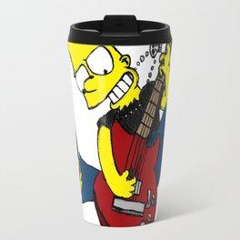 rocksatars simpson guitar Travel Mug