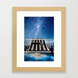 Escalator to the Heavens Framed Art Print