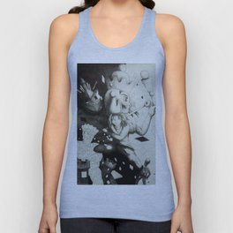 Pawn against the world Unisex Tank Top