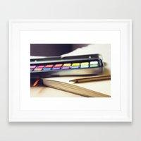 creativity Framed Art Prints featuring Creativity by BURNEDINTOMYHE∆RT♥