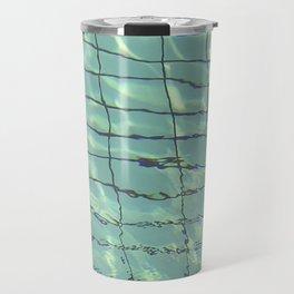 Water pattern Travel Mug