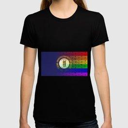 Rainbow Wall Kentucky T-shirt
