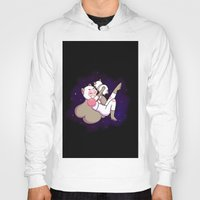 puppycat Hoodies featuring Bee and Puppycat by attercopter