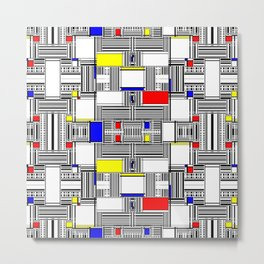 Rachna Bauhaus 7 Metal Print
