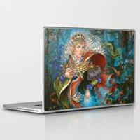berserk Laptop & iPad Skins featuring Elven sorceress by DiMary