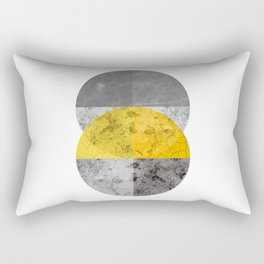 Geometric Composition 6 Rectangular Pillow