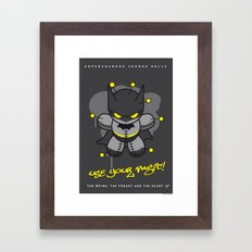 My SUPERCHARGED VOODOO DOLLS NO6 Framed Art Print