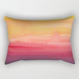 Heat waves Rectangular Pillow