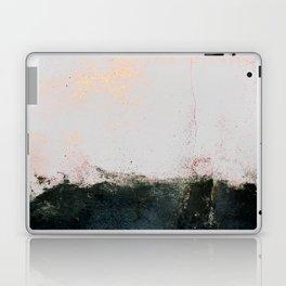 abstract smoke wall painting Laptop & iPad Skin