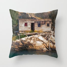 Just 2 More Payments Throw Pillow