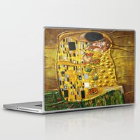 gustav klimt Laptop & iPad Skins featuring My Klimt by Müge Başak