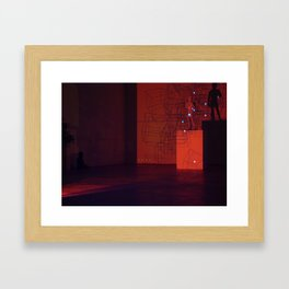 Projection 1 Framed Art Print