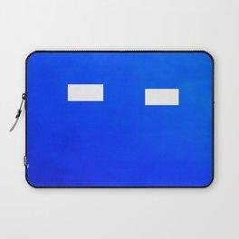 Minimalism Electric Blue Laptop Sleeve