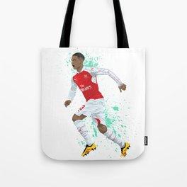 Kieran Gibbs - Arsenal FC Tote Bag