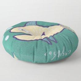 HAPPY HAPPY FISH! Floor Pillow