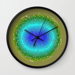 Green power Wall Clock
