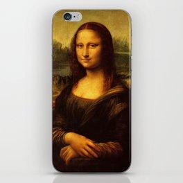 Leonardo Da Vinci Mona Lisa Painting iPhone Skin
