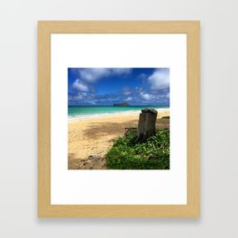 Hawaii Summer Days Framed Art Print