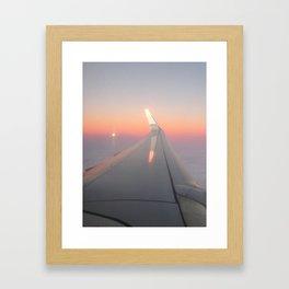 On The Wing pt. II Framed Art Print