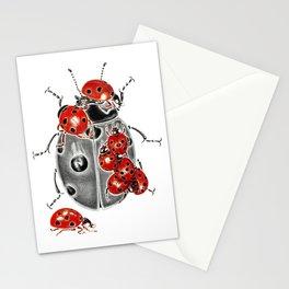 Siege of ladybugs Stationery Cards
