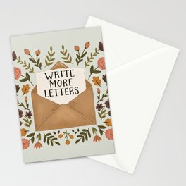 Write More Letters Stationery Cards