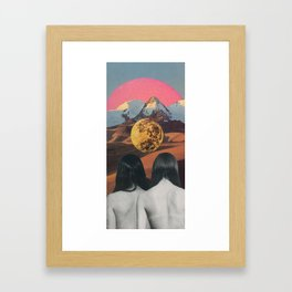 The Future Looks Bright Framed Art Print