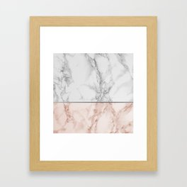 Marble #7 Framed Art Print