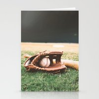 baseball Stationery Cards featuring BASEBALL by Ylenia Pizzetti