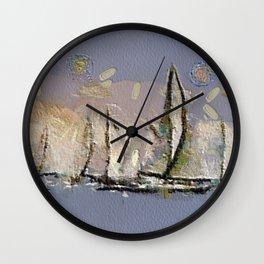 Regata I Wall Clock