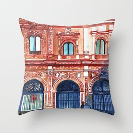 Casa consistorial de Sevilla Throw Pillow