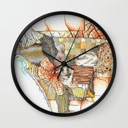 Tapestry Wall Clock