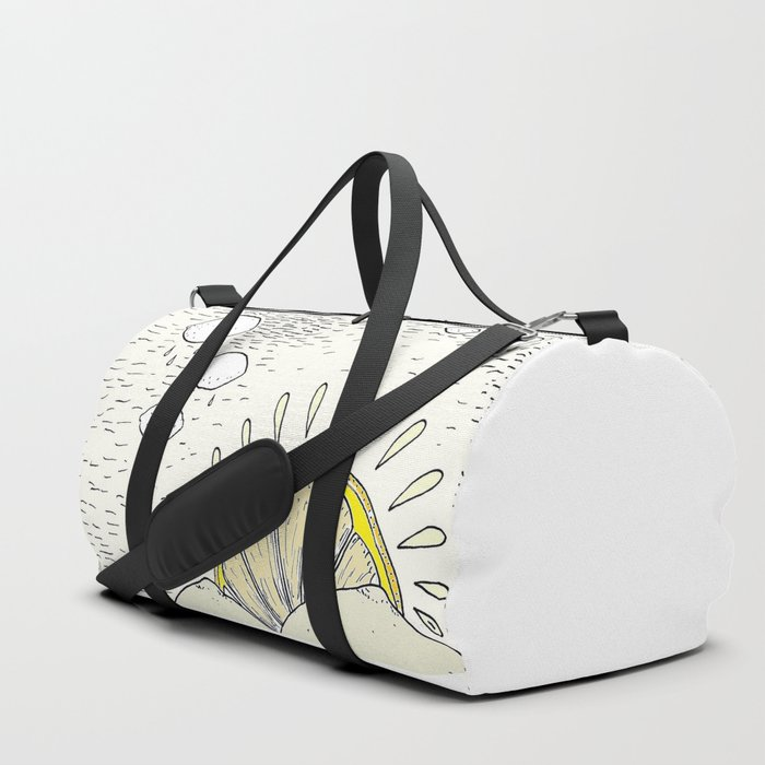 Lemon paradise Duffle Bag