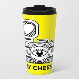 Say Cheese! Metal Travel Mug